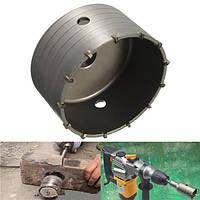 160 мм пустотелый сердечник Дрель Сплав для резки пилы для бетонной кирпичной стены-1TopShop