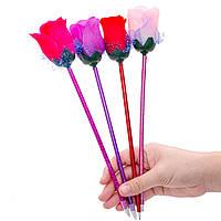SR-532 1 Шт. Творческий Cute Rose Ballpoint Ручка Письменные Ручка Офис Школа Поставки Подарки на День Святого Валентина Случайный Цвет-1TopShop