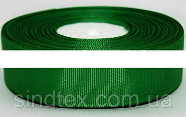 РЕПСОВАЯ лента ширина 2,5см (23 метра). Цвет - Зелёный