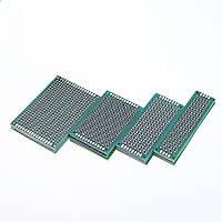 100шт 5x7 4x6 3x7 2x8cm Двухсторонний прототип Diy Универсальная печатная плата PCB Protoboard pcb Набор-1TopShop