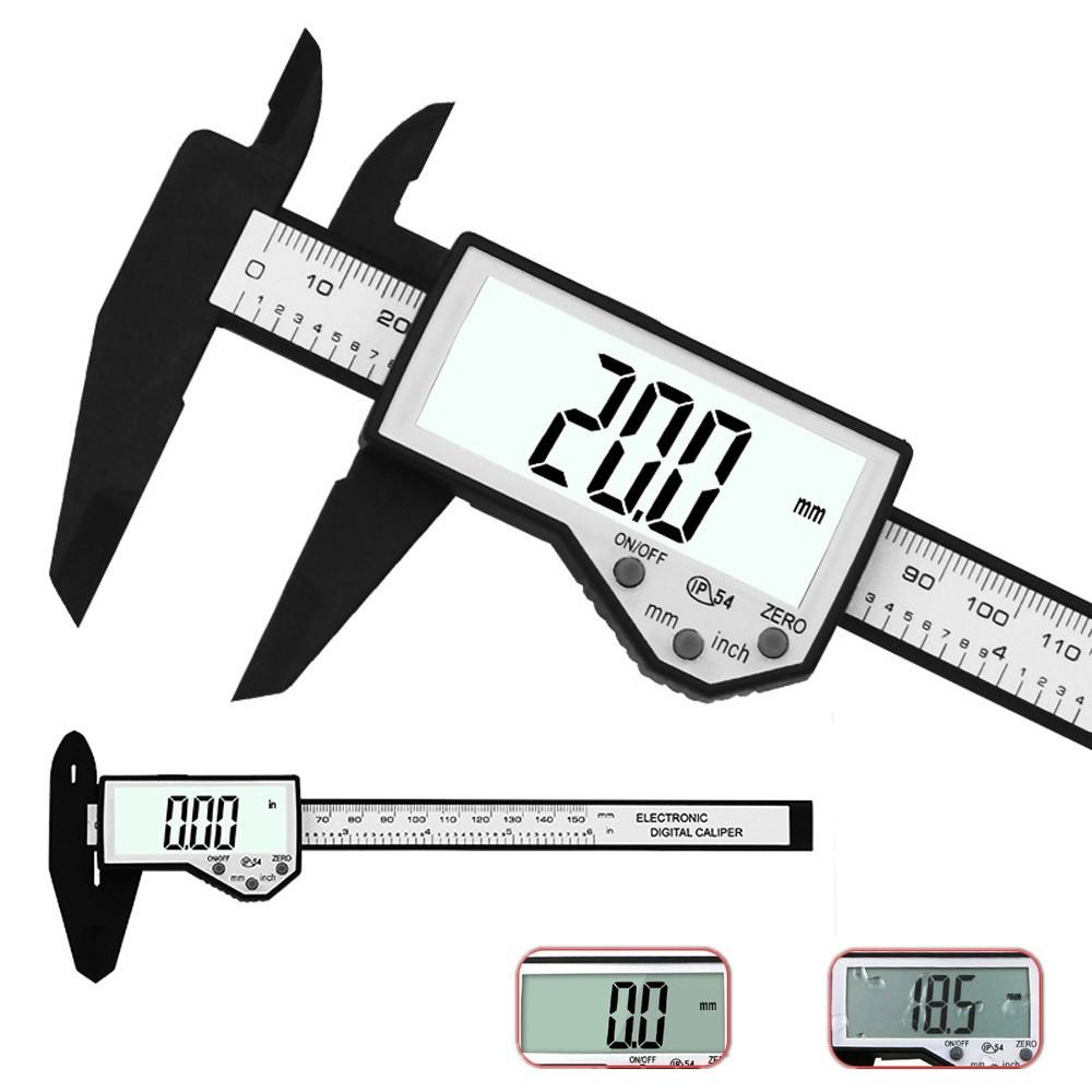 DANIU Цифровой штангенциркуль 6-дюймовый 150 мм Электронный Водонепроницаемы IP54 Цифровой штангенциркуль Микрометр измерения - 1TopShop