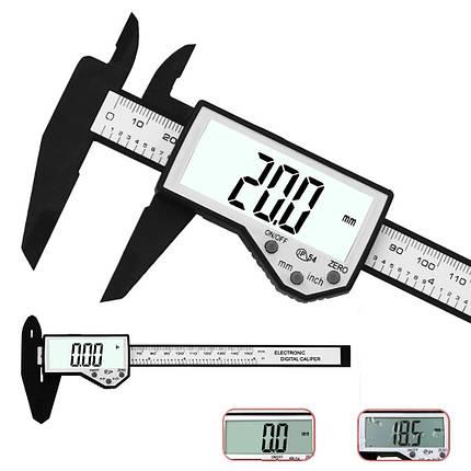 DANIU Цифровой штангенциркуль 6-дюймовый 150 мм Электронный Водонепроницаемы IP54 Цифровой штангенциркуль Микрометр измерения - 1TopShop, фото 2