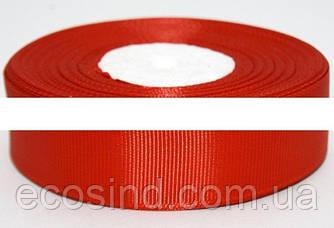 РЕПСОВАЯ лента ширина 2,5см (23 метра). Цвет - Красный