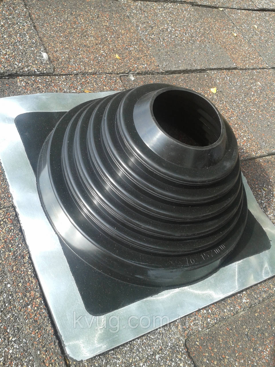 Уплотнитель из EPDM - резины  (диаметр 76-152), фото 1
