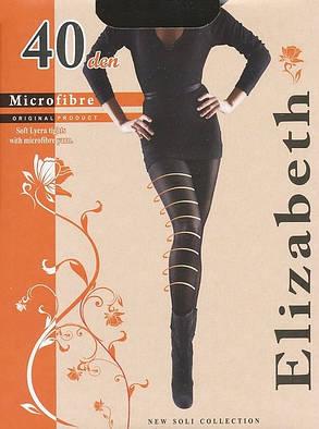 Колготки Elizabeth 40 den microfibre Nero р.4 (00122) | 5 шт., фото 2
