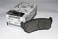 Konner KPR-1010 Тормозные колодки (задние) Chevrolet Lacetti 96405131