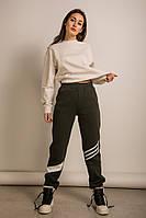 Теплые штаны хаки M, L, XL