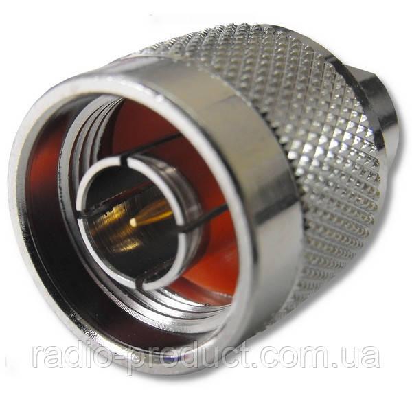 Разъём H155 N-тип папа под кабель RG-6, EK-H155, etc