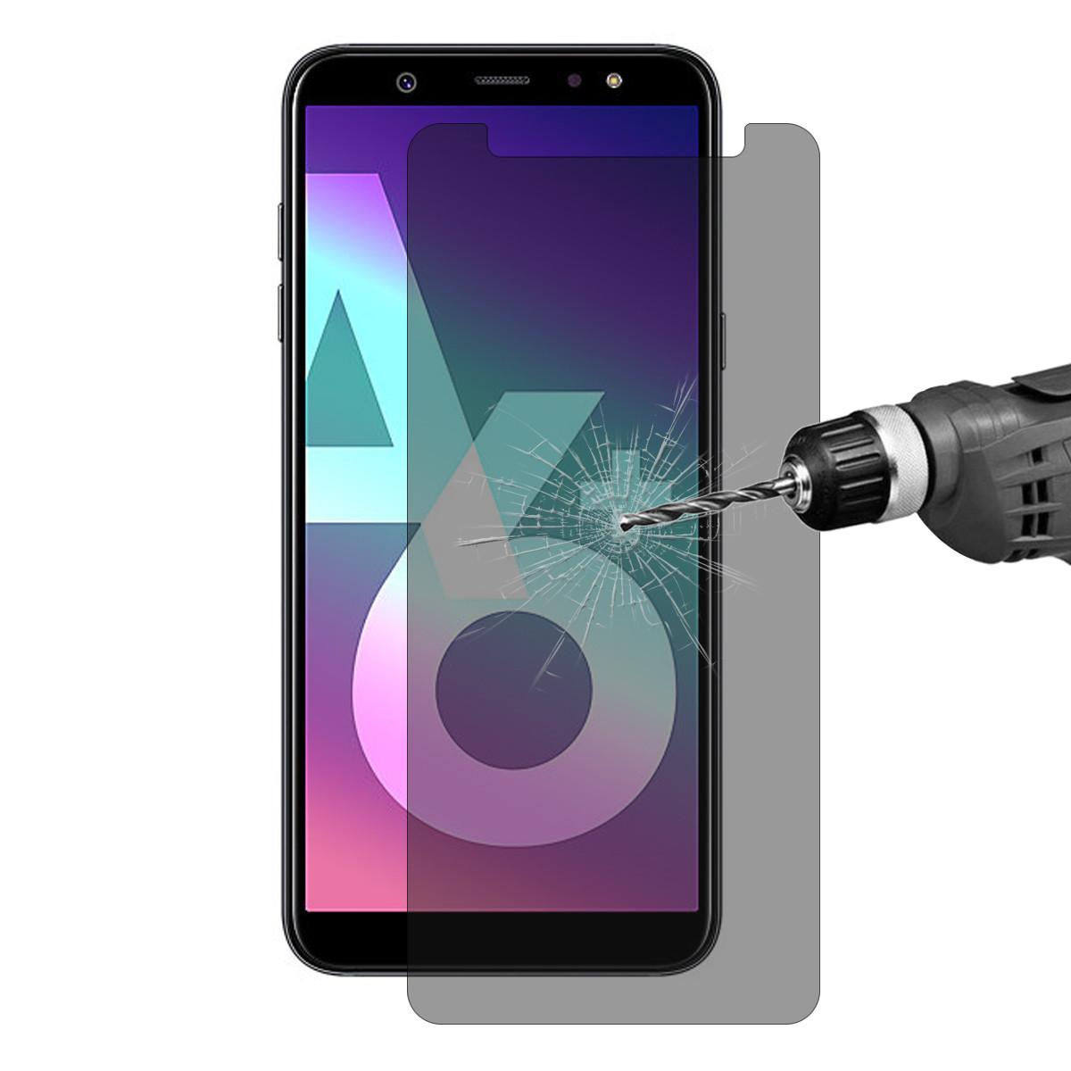 Enkay0.26mm9H2.5DАнтиПодглядывающий закаленный стеклянный протектор экрана для галактики Samsung A6 Plus 2018 - 1TopShop
