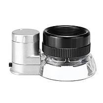 20X Magnifier Magnifier LED Loupe Light Jewelry Оптическое стекло Увеличение - 1TopShop, фото 3