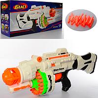 Бластер пулемет мягкие пули на присосках