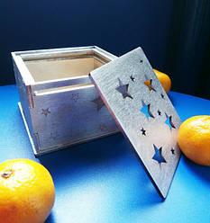 Подарункові коробки з дерева або картону (дерев'яні, картонні коробки для подарунків)