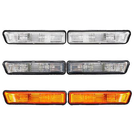Пара Сторона Маркерные огни Поворот Лампа Обложка для BMW E36 1997-1999 X5 2000-2006 - 1TopShop, фото 2