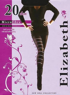 Колготки Elizabeth 20 den microfibre Nero р.5 (00121) | 5 шт., фото 2