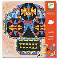 Художній комплект мозаїка Djeco Череп (DJ08889)