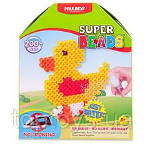PAULINDA Аквамозаїка Super Beads 200 деталей Каченя (PL-150002)