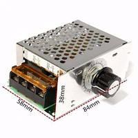Мощный регулятор напряжения,мощности,Диммер 0-220V,4 кВт. В корпусе