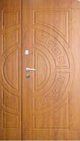 """Входная металлическая полуторная дверь в Одессе """"Портала"""" (Стандарт) ― модель Греция"""