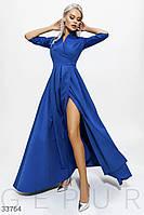 Элегантное длинное вечернее платье S M L XL 2XL 3XL 4XL, фото 1