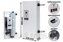 """Котёл электрический """"STARVA"""" для отопления 6.0 кВт. 3-х фазный с цифровым управлением производитель Украина"""