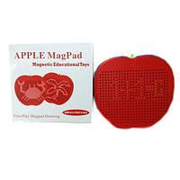 Магнитный планшет для рисования яблоко
