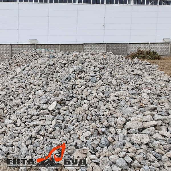 Дробленого бетона бетон янино колтуши