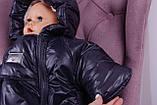 Зимний комбинезон для новорожденных Sky (графит), фото 6
