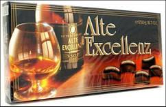 Шоколадные конфеты Alte Excellenz с бренди 250 г (Германия)