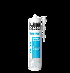 Универсальный санитарный герметик Ceresit Sanitary CS15 (белый)