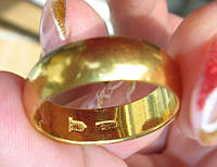 Как отличить позолоченное изделие от золотого?