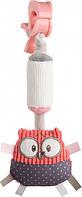 Іграшка Canpol Babies Pastel Friends плюшева з дзвіночком Коралове (68/066_cor)