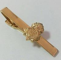 Зажим на галстук Нацгвардии металл, фото 1