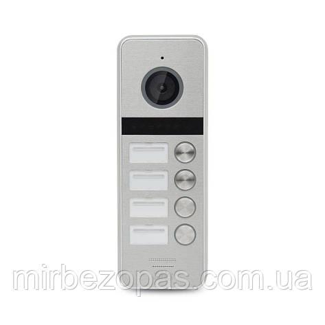 Видеопанель AT-404HD Silver, фото 2