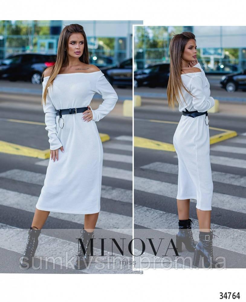 Платье №1390Н-белый, фото 1