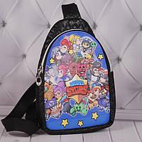 """Детская сумка бананка """"Brawl Stars"""", сумка через плечо для мальчиков """"Brawl Stars"""""""