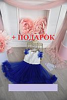 Детское нарядное платье + ПОДАРОК (ПЕРЧАТКИ) 3-5 лет, фото 1