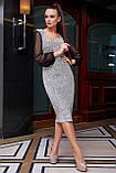 Гламурне приталене плаття пряме (2 кольори, р. M,L,XL,2XL), фото 7