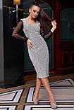 Гламурне приталене плаття пряме (2 кольори, р. M,L,XL,2XL), фото 8
