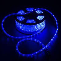 Светодиодный дюралайт 36 led на 1м, бухта 100 м цвет синий, фото 1