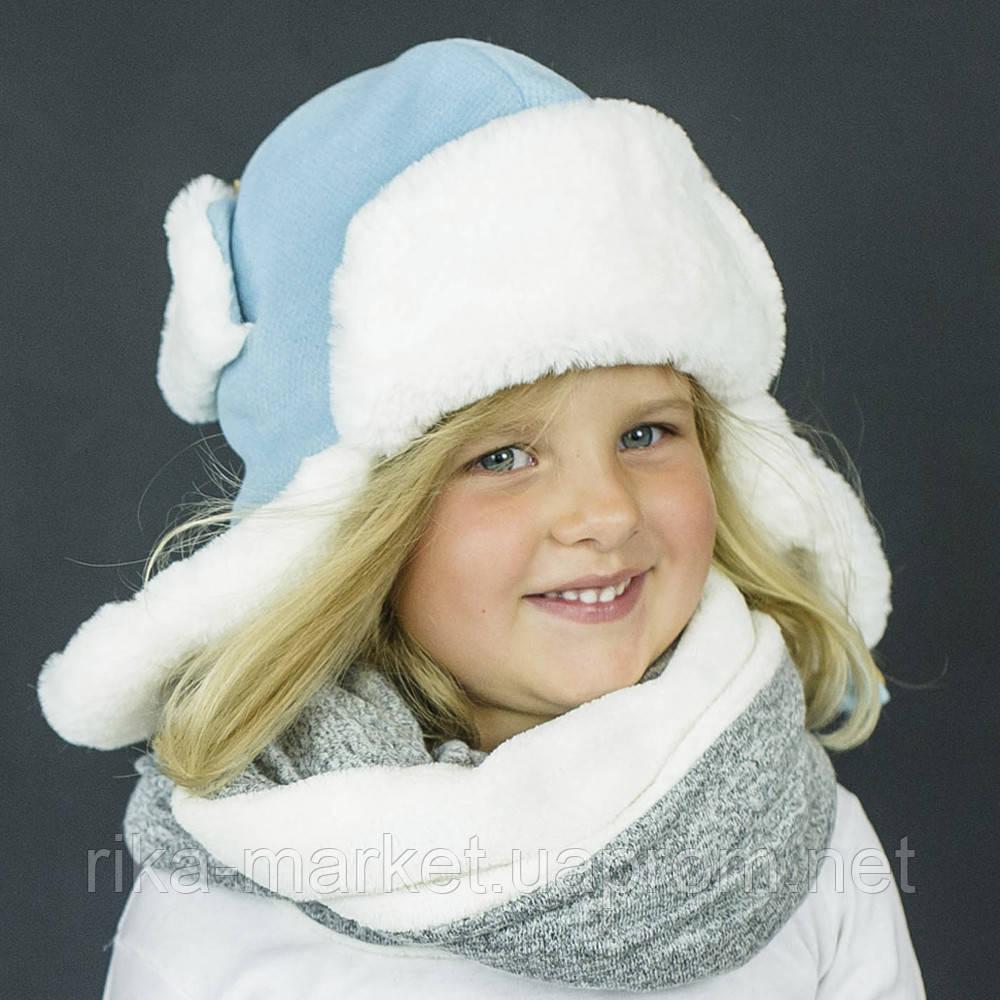 Набор зимний шапка и шарфик арт дафни