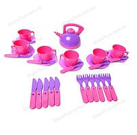 """Набор детской посуды """"Ева"""", фото 1"""