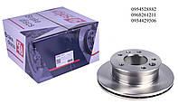 Тормозной диск передний (276х22мм) MB Sprinter 208-416 1995-2006 SOLGY (Испания) 208001, фото 1