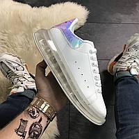 Alexander McQueen Air Crystal Sole White Laser Multicolor