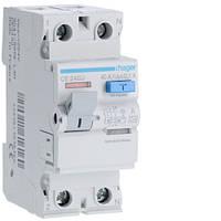 Устройство защитного отключения Hager (ПЗВ) 2P 40A 100mA A (CE240J)