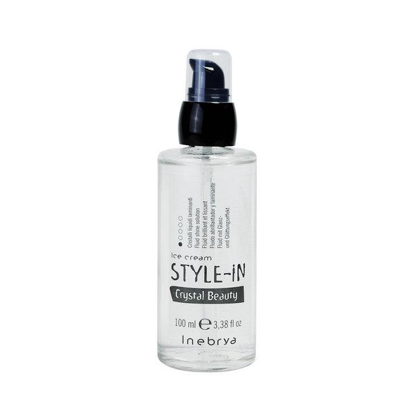 Флюид для блеска волос Inebrya Ice Cream Style-In Crystal Beauty 100 мл (21032)