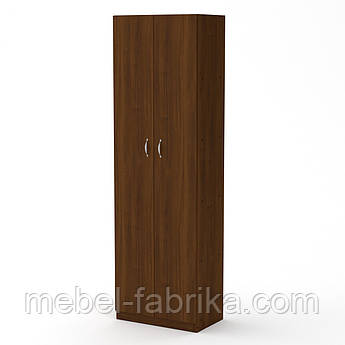 Шкаф книжный с полками КШ-7 орех (60х37х195 см)