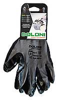 Перчатки трикотажные Doloni с нитриловым покрытием (Арт. 4577) размер 10 - 1 пара.