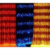 Гірлянда Штора Водоспад 3м х 1,5 м - 400 led Теплий,Холодний,Синій,Рожевий,Мульти, фото 5