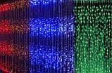 Гірлянда Штора Водоспад 3м х 1,5 м - 400 led Теплий,Холодний,Синій,Рожевий,Мульти, фото 6
