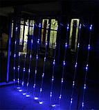 Гірлянда Водоспад 2,5 м х 2,5 м - 480 led Вулиця, фото 3